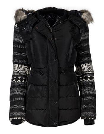 Desigual dámská bunda Padded 36 černá  ed0cd7838e2