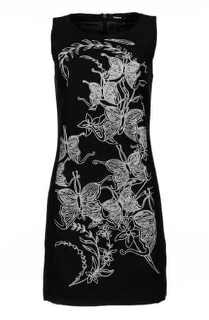 Desigual sukienka damska Rotterdam 42 czarny