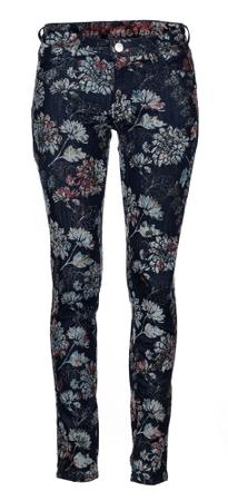 Desigual ženske hlače Floc 27 temno modra