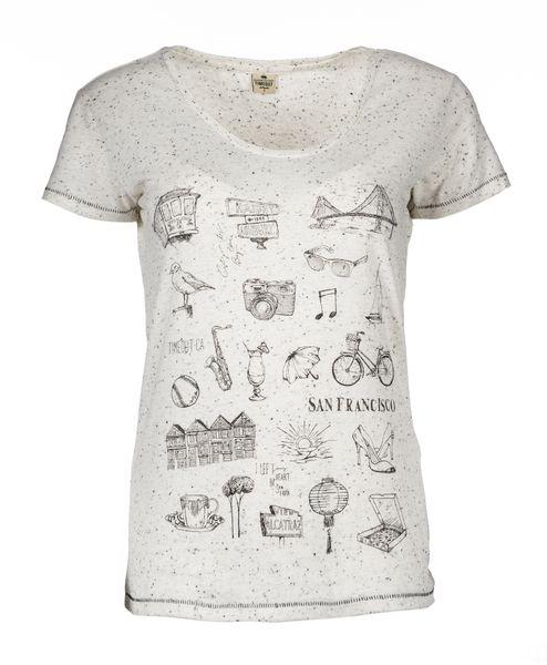 Timeout dámské tričko L svtěle šedá