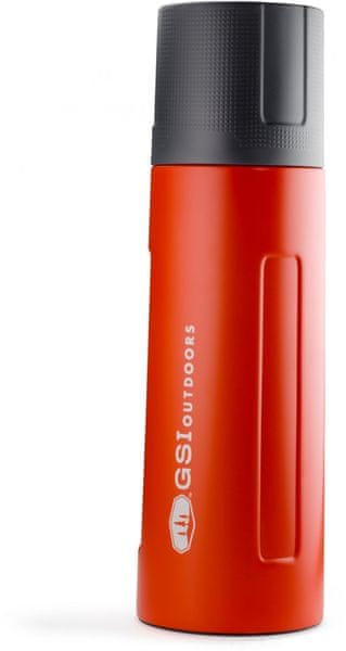 Gsi Glacier Stainless 1 L Vacuum Bottle Red
