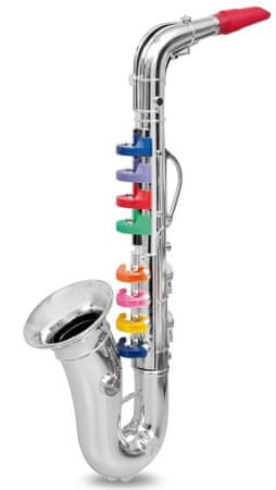 Alltoys Saxofón 8 notes 42 cm