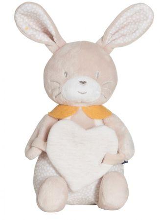 Candide Zajačik so srdiečkami Lenny