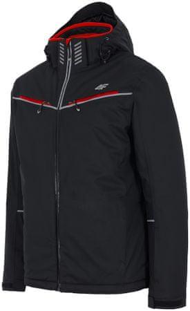 4F męska kurtka narciarska H4Z17 KUMN008 czarny M