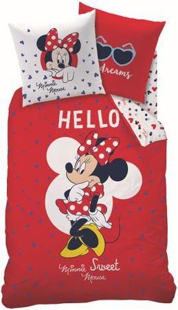 CTI Minnie Mouse Hello ágyneműhuzat, 140x200, 70x90