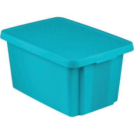 Curver škatla za shranjevanje Essentials, 16 l, turkizna