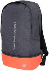 4F Plecak H4Z17 PCD002 ciemny szary melanż