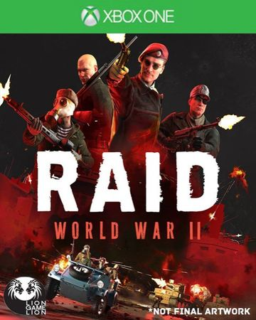 505 Gamestreet Raid World War II XONE