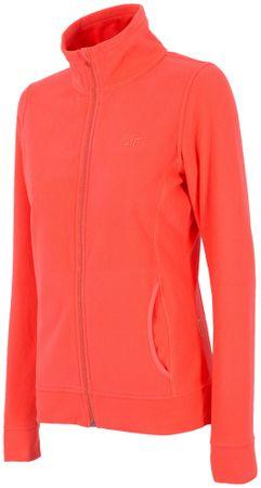 4F damska bluza H4Z17 PLD001 koralowy S