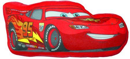 CTI 3D vzglavnik Blisk McQueen Cars, 38 cm
