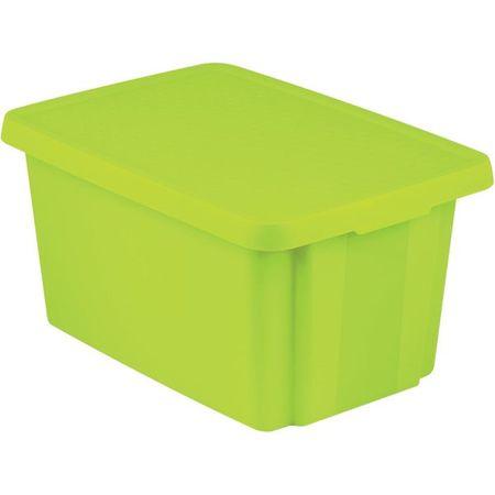 Curver škatla za shranjevanje Essentials, 26 l, zelena
