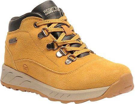 Regatta otroški čevlji Grimshaw Suede Mid Spruce Yellow, 39