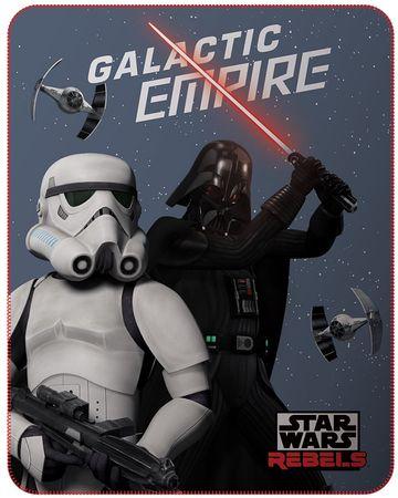 CTI Fleece dečka Star wars dark side 110x140 cm