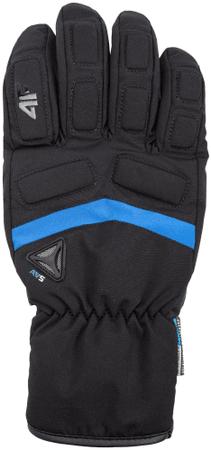 4F męskie rękawice narciarskie H4Z17 REM004 M czarny