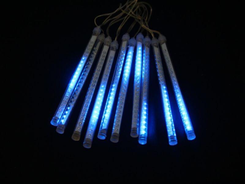 Seizis LED kapající trubice 20 cm, 10 ks, modré