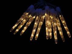 Seizis sople lodu LED, 20 cm, 10 szt., ciepła biel
