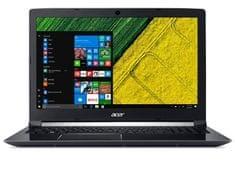 Acer prenosni računalnik Aspire 7 A715-71G-502R i5-7300HQ/8GB/256GBSSD/FHD15,6/GTX1050/Linux