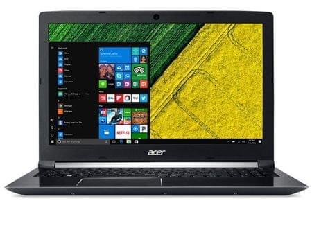 Acer prenosni računalnik Aspire A715-71G-50TP i5-7300HQ/8GB/256GBSSD/FHD15,6/GTX1050/W10H (NX.GP8EX.002)