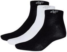 4F Zestaw damskich skarpet H4Z17 SOD002 czarny+czarny+biały