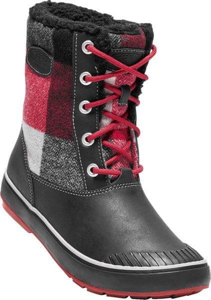 KEEN Elsa Boot Wp W black/red dahlia US 10,5 (41 EU)