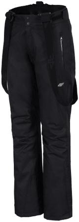 4F damskie spodnie narciarskie H4Z17 SPDN001 czarny XL