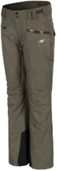 4F damskie spodnie narciarskie H4Z17 SPDN002 brąz