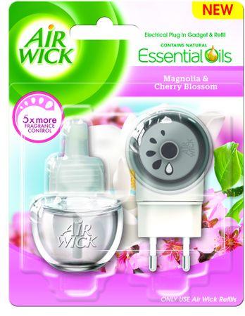 Air wick Electric komplet Magnolie a květy třešní 19 ml