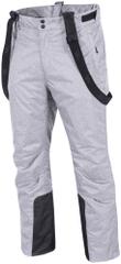 4F męskie spodnie narciarskie H4Z17 SPMN001 szary melanż