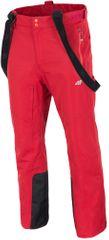 4F męskie spodnie narciarskie H4Z17 SPMN003 pomarańcz