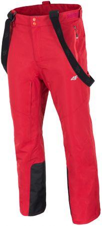 4F męskie spodnie narciarskie H4Z17 SPMN003 pomarańcz XL