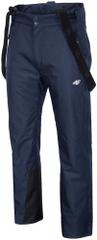 4F męskie spodnie narciarskie H4Z17 SPMN004 granatowy melanż