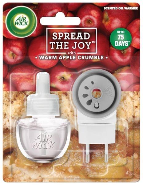 Air wick Electric komplet Čerstvě upečený jablečný koláč 19 ml