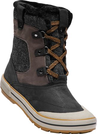 KEEN Elsa Premium Mid Wp W black/golden brown US 8 (38,5 EU)