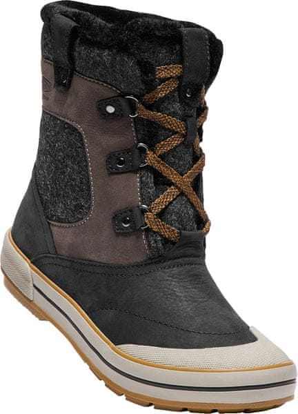 KEEN Elsa Premium Mid Wp W black/golden brown US 10,5 (41 EU)