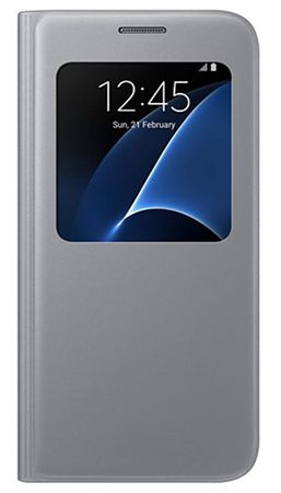 Samsung pametni preklopni ovitek za Galaxy S7 (G930), silver (EF-CG930PSEGWW)