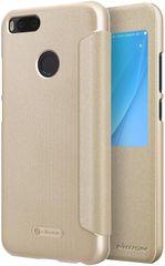 Nillkin Sparkle S-View Pouzdro pro Xiaomi Mi A1, zlatá