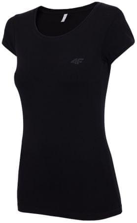 4F koszulka damska H4Z17 TSD001 czarny XS