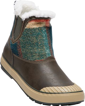 KEEN Elsa Chelsea Wp W coffee bean wool US 9,5 (40 EU)