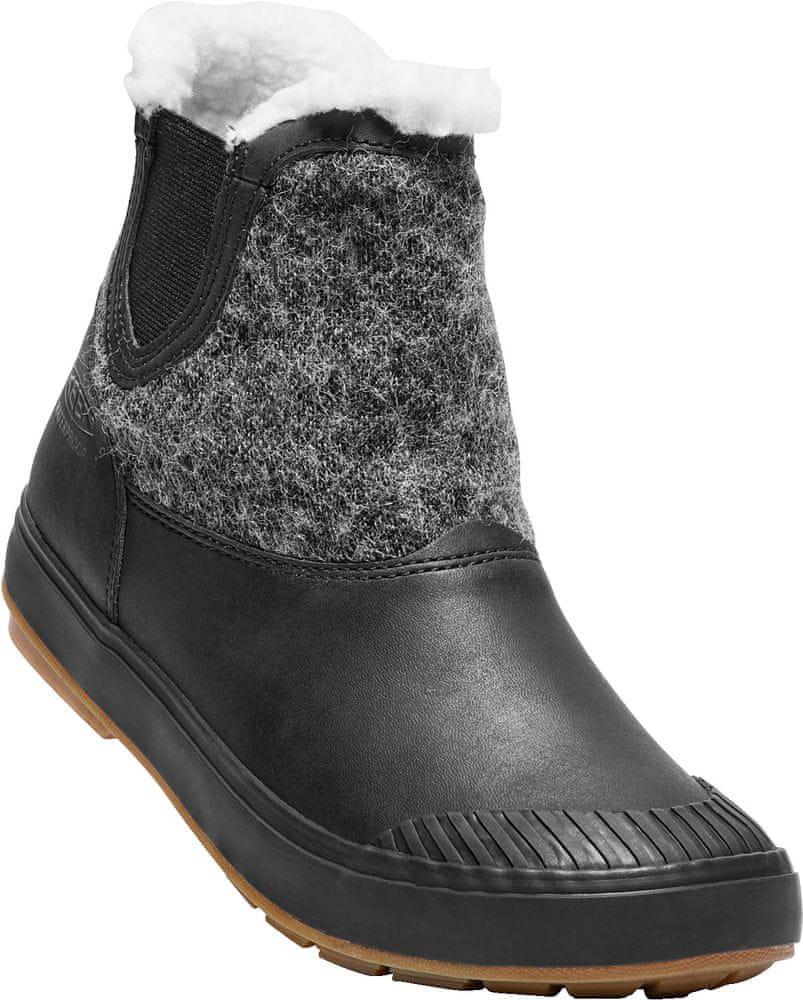 05c222796ca96 KEEN Elsa Chelsea Wp W black wool US 9 (39,5 EU)