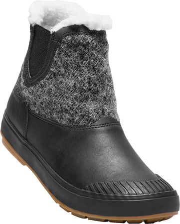 KEEN Elsa Chelsea Wp W black wool US 7,5 (38 EU)
