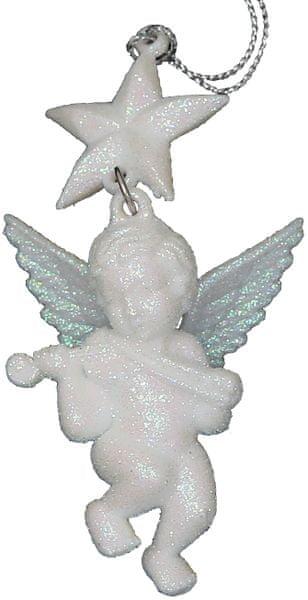 Seizis Anděl závěsný 10 cm, 3 ks