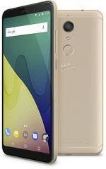 Wiko GSM telefon View XL LTE, zlat