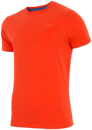 4F koszulka męska H4Z17 TSM001 pomarańcz L