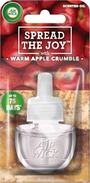 Air wick Electric náplň Čerstvě upečený jablečný koláč 19 ml