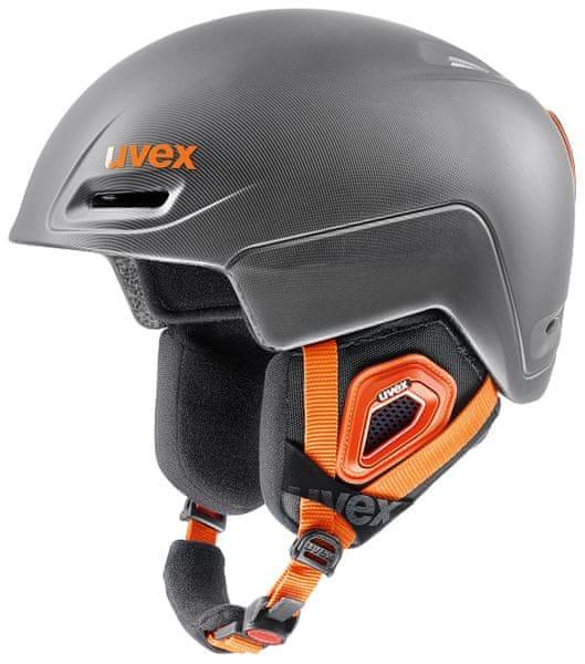 Uvex Jimm Grey/Black/Orange Mat (59-62)