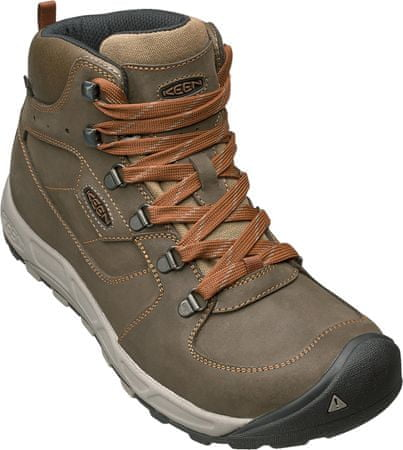 KEEN Westward Mid Leather Wp M dark olive/rust US 8,5 (41 EU)