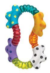 Playgro ropotuljica za zvijanje z grizali Click&Twist
