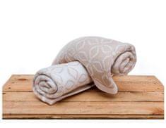 CuddlyZOO Bavlněná deka dvoubarevná