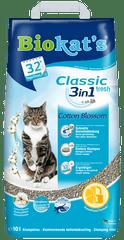 Gimpet żwirek dla kota Biokat's Classic Fresh 3in1 Cotton Blossom 10 L