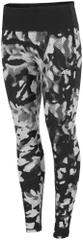 4F Damskie spodnie do fitnessu H4Z17 SPDF004 allover czarny-biały